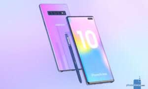 Samsung Galaxy Note 10 z wersją 5G