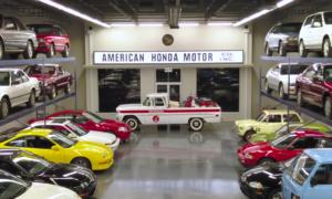 To prawdopodobnie najwspanialsza prywatna kolekcja samochodów Honda