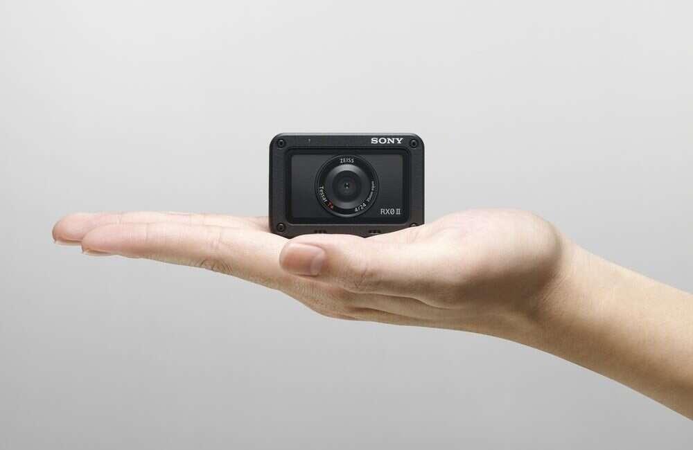 """Sony RX0 II """"najmniejszą i najlżejszą kompaktową kamerką premium na świecie"""""""
