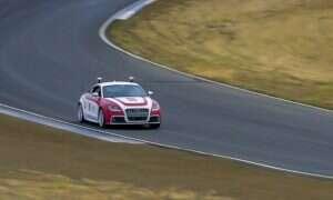 To autonomiczne Audi TTS dorównywało profesjonalnemu kierowcy