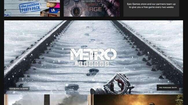 Śmieciowe gry nie dla Epic Games Store... nie to co na Steam