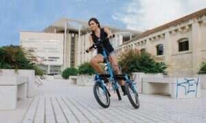 Trójkołowy elektryczny Tris Bike wjechał na Kickstartera