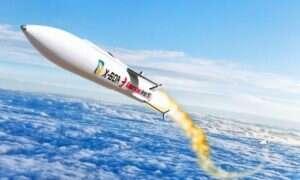 Hipersoniczna rakieta X-60A uzyskała zielone światło do produkcji