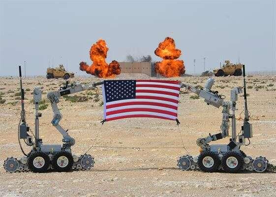Oddział robotów w planach Logistycznej Agencji Sił Zbrojnych USA
