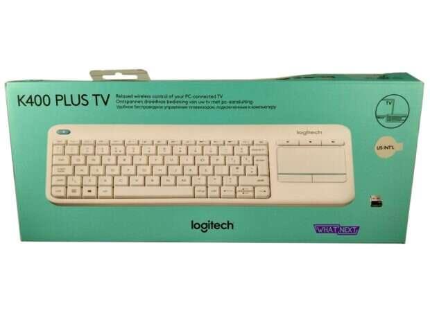 Test klawiatury multimedialnej Logitech K400 Plus