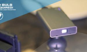 Najmniejszy na świecie projektor laserowy AnyBeam od Nebra