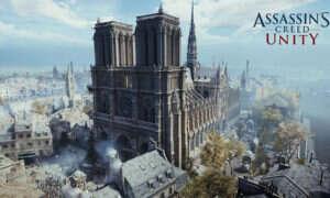 Trzy miliony graczy skorzystało z pożaru Notre Dame, zgarniając Assassin's Creed Unity