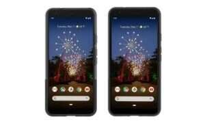 Google Pixel 3a i 3a XL na pierwszym oficjalnym renderze