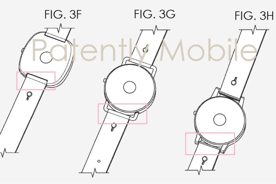 Google, smartwatch Google, zegarek Google, patent smartwatch Google, patent zegarek Google