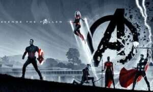 Brytyjskie plakaty Avengers: Endgame