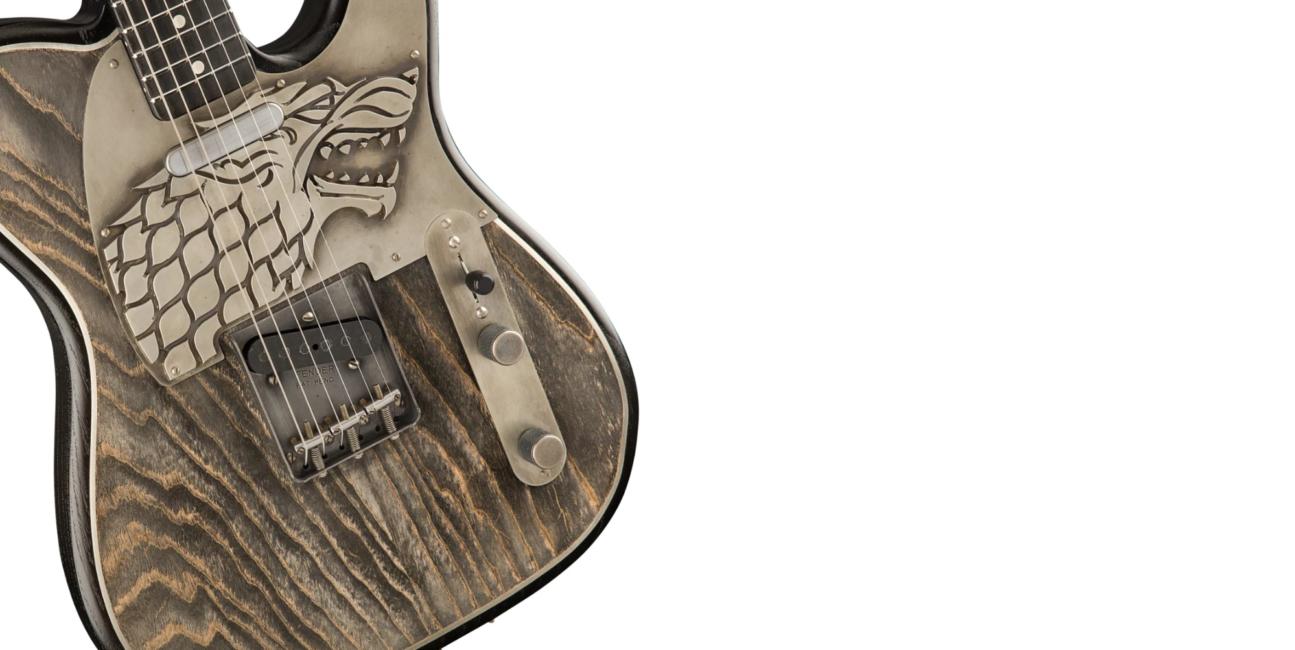 Powstały gitary inspirowane stronami konfliktu z Gry o Tron