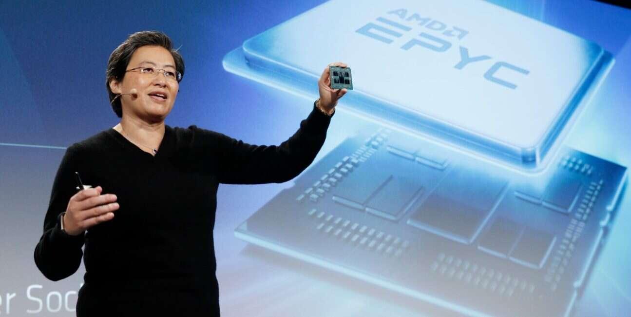 Procesory AMD EPYC zyskują coraz to większą popularność
