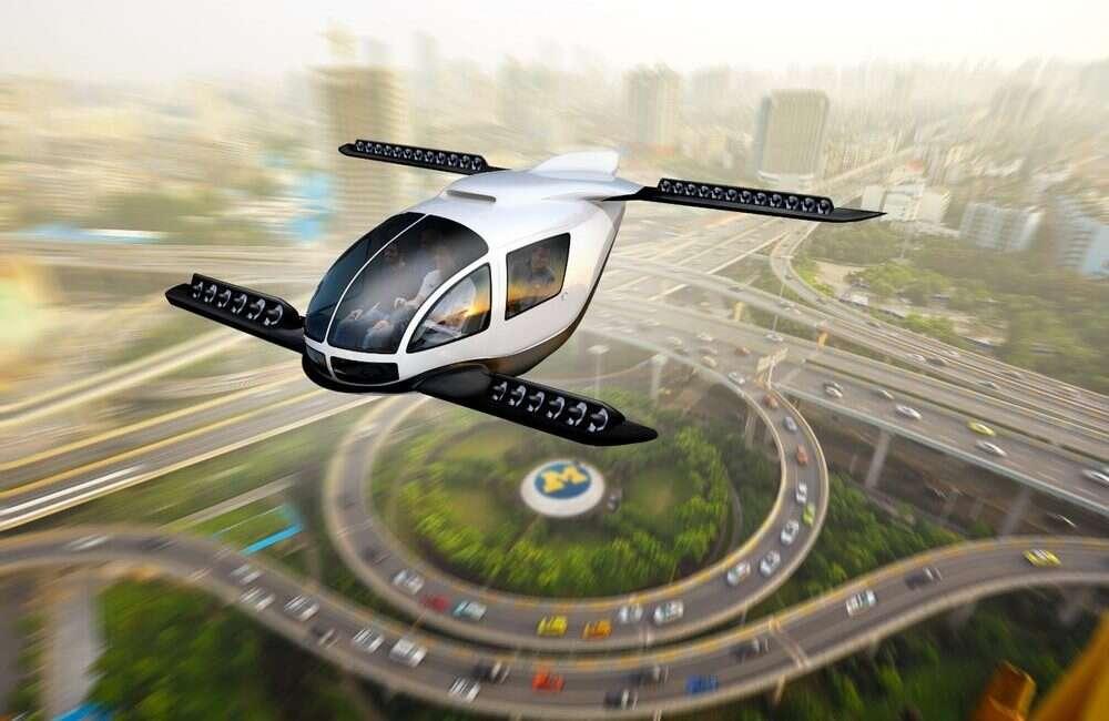 """Elektryczne latające samochody nie takie """"eko"""", jak mogłoby się wydawać"""