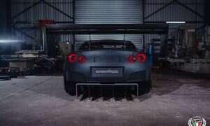 Ten 1600-konny Nissan GT-R ma cholernie dużo cholernie dużych spojlerów