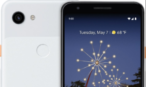 Nowe rendery Google Pixel 3a