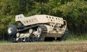Gąsienicowy robot Grizzly ma przyśpieszyć manewry piechoty