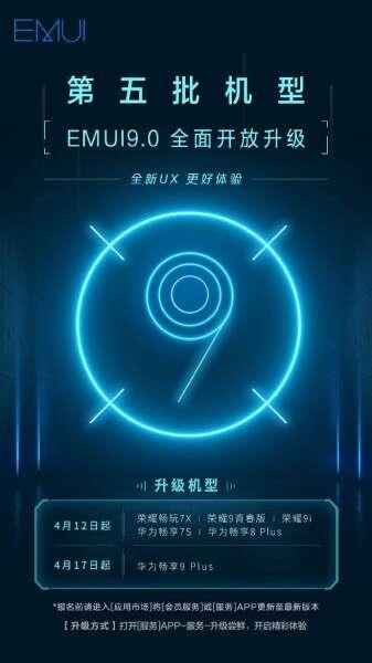 EMUI 9, huawei EMUI 9, smartfony EMUI 9, aktualizacja EMUI 9, huawei android pie
