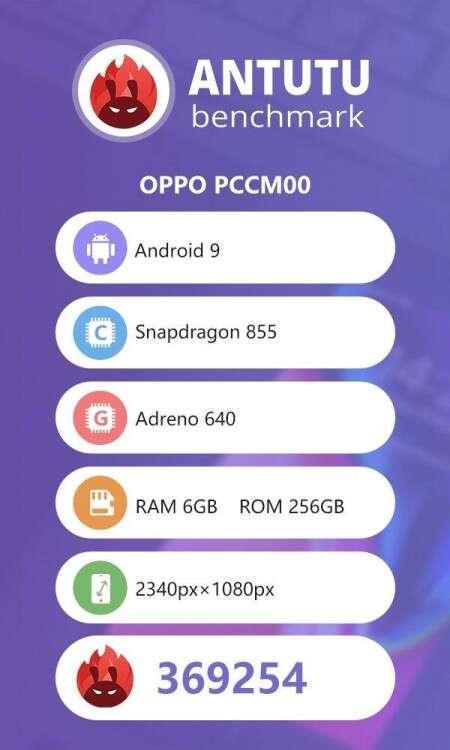 Oppo Reno 10X, antutu Oppo Reno 10X, benchmark Oppo Reno 10X, wydajność Oppo Reno 10X,
