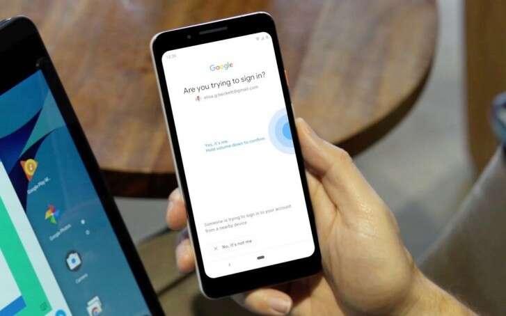 Android, klucz bezpieczeństwa Android, smartfon Android klucz bezpieczeństwa, weryfikacja Google