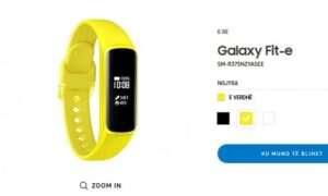 Samsung Galaxy Fit-e pojawił się na pewnej stronie