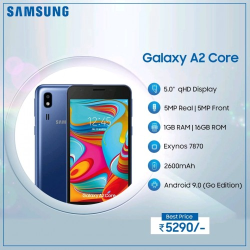 Galaxy A2 Core, samsung Galaxy A2 Core, specyfikacja Galaxy A2 Core, parametry Galaxy A2 Core, cena Galaxy A2 Core