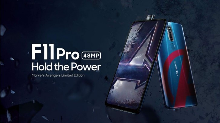 Oppo F11 Pro Avengers Limited Edition, Oppo F11 Pro Avengers, limitowana edycja Oppo F11 Pro, avengers Oppo F11 Pro