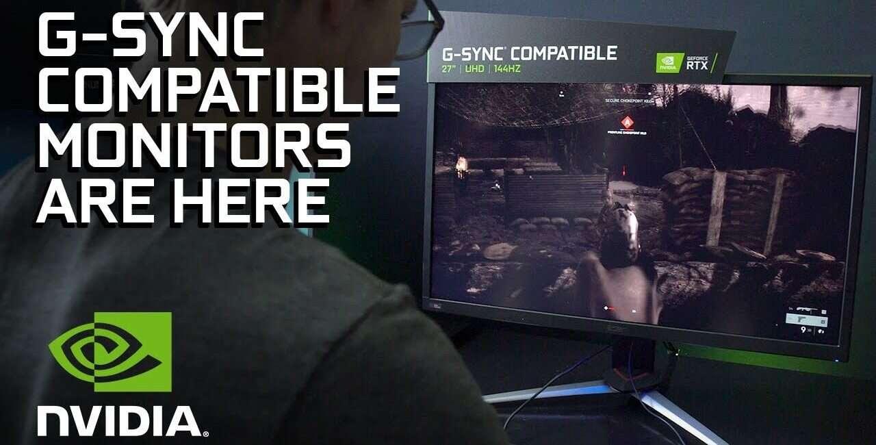 NVIDIA rozszerzy listę monitorów G-Sync Compatible o prawie połowę