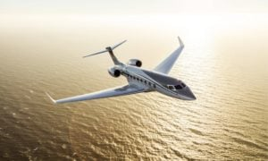 Odrzutowiec G650ER od Gulfstream pobił dwa rekordy w klasie biznesowej