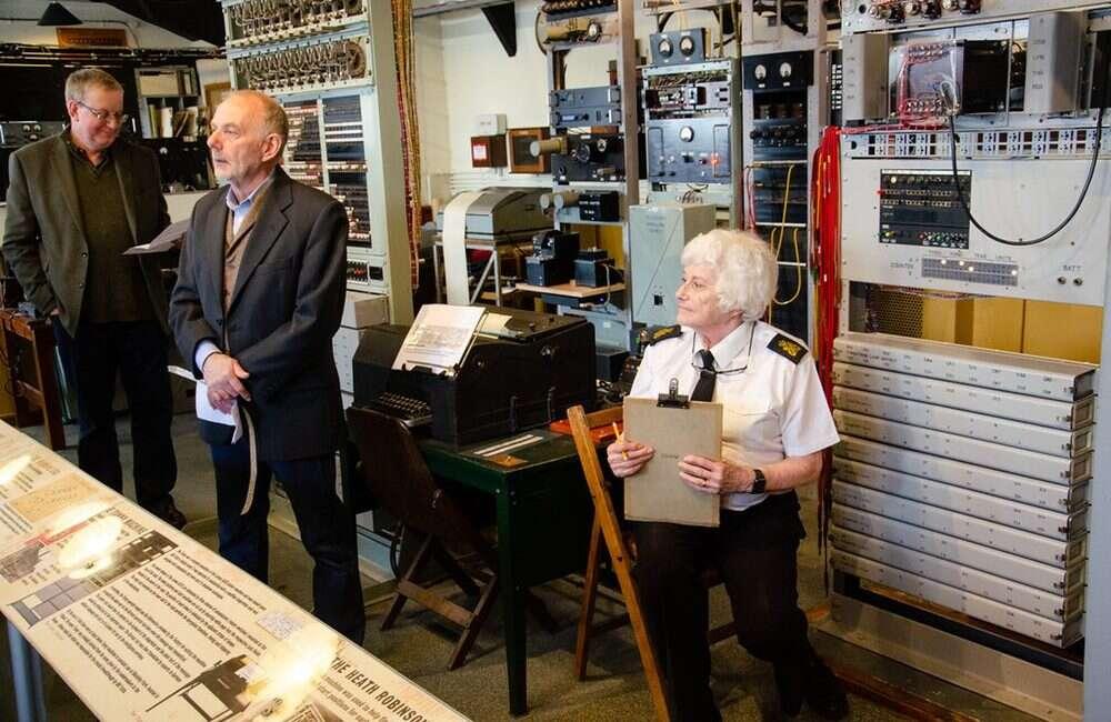 Zrekonstruowano maszynę kryptograficzną Heath Robinson z czasów II WŚ