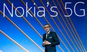 Nokia jest na minusie w Q1 2019
