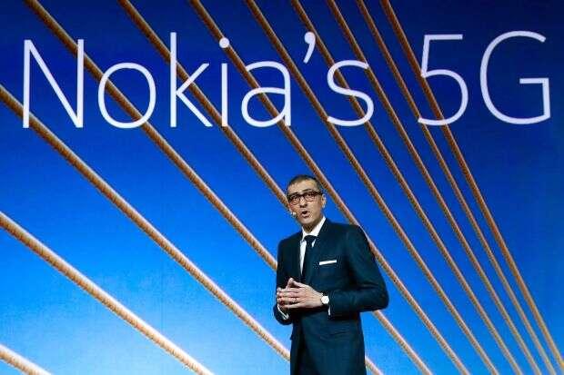 Nokia, starta Nokia, Q1 2019 Nokia, 5G Nokia, sieć 5G Nokia