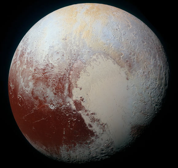 Pluton, atmosfera Plutona, atmosfera Pluton, pory roku Pluton, zamarzanie azotu Pluton,