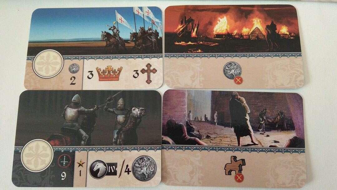 Glory: A Game of Knights wydarzeia