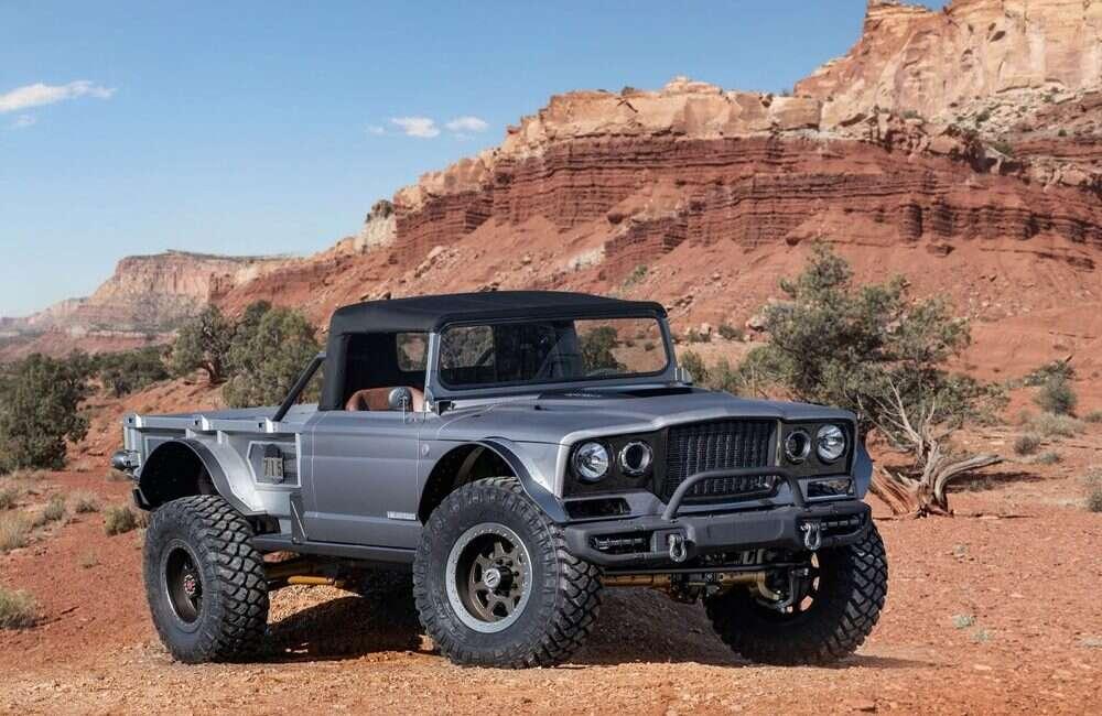 Jeep zaprezentował szereg swoich nowych konceptów pickupów