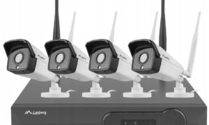 Zestaw domowego monitoringu WiFi Lanberg