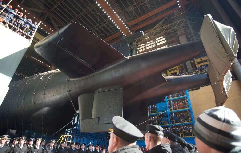 Morską toń zaczął już podbijać najdłuższy na świecie okręt podwodny Biełgorod z Rosji