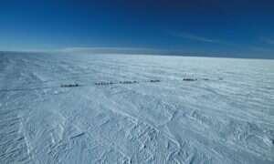 Wiemy jak głęboko znajduje się najstarszy lód pod powierzchnią Antarktydy