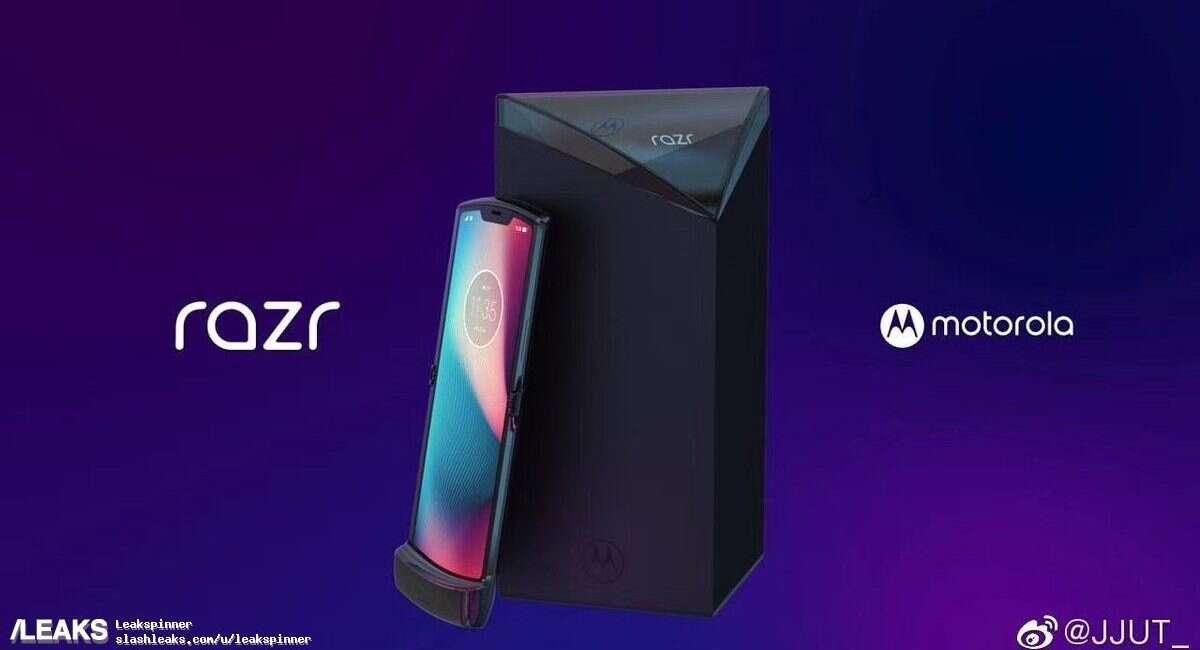 Motorola Razr, render Motorola Razr, wygląd Motorola Razr, render Motorola Razr (2019), wygląd Motorola Razr (2019)