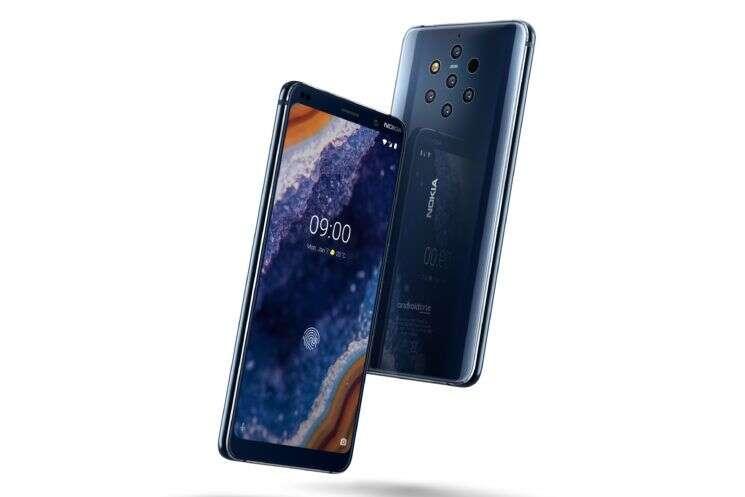 Nokia 9 PureView, czytnik Nokia 9 PureView, problemy Nokia 9 PureView, odcisk palca Nokia 9 PureView
