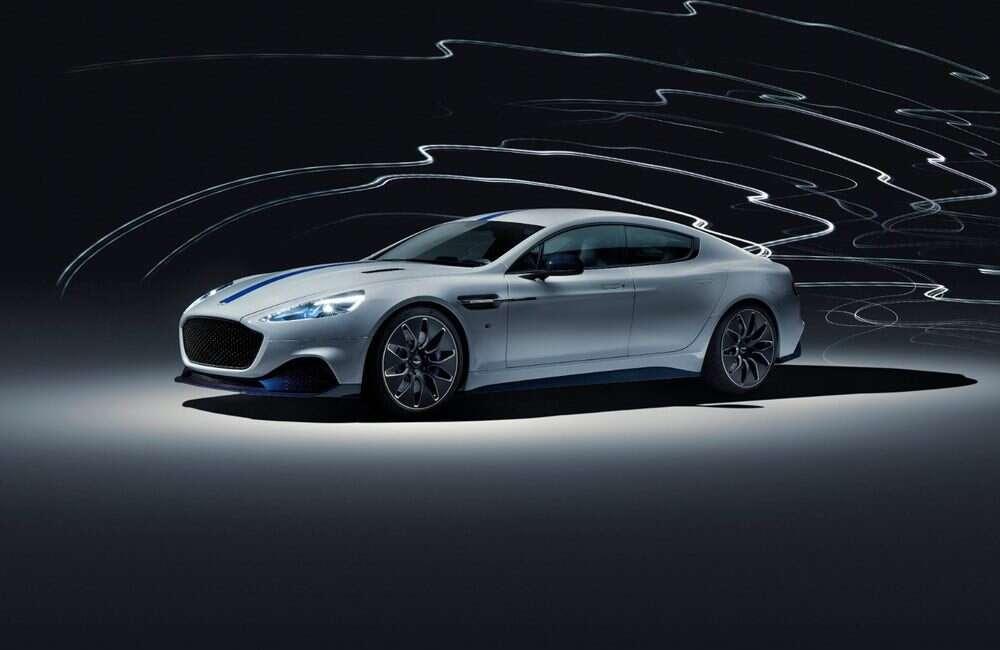 Rapide E od Aston Martin