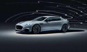 Pierwszy produkcyjny samochód elektryczny Rapide E od Aston Martin