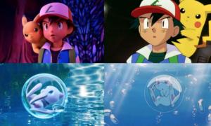 Porównanie klasycznych Pokemonów z nowym filmem
