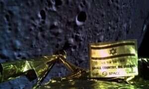 Izraelski lądownik rozbił się o powierzchnię Księżyca