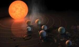 Układ planetarny oddalony o zaledwie 40 lat świetlnych może zawierać życie