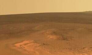 Na Marsie występują trzęsienia ziemi