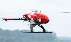 Ratowniczy dron Rega jest w stanie autonomicznie rozpocząć poszukiwania