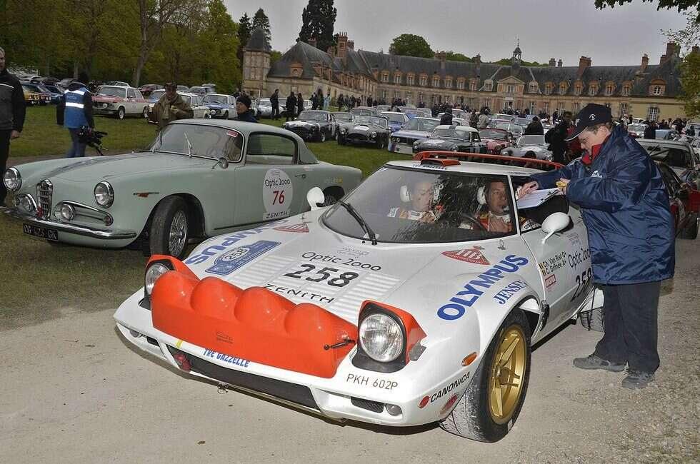 Ten egzemplarz Lancia Stratos z 1976 roku z pewnością się nie nudził