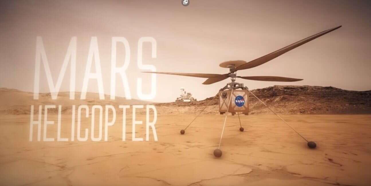 Marsjański helikopter NASA gotowy na podbój Czerwonej Planety