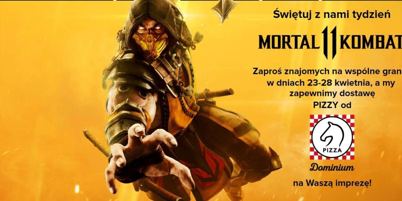 Kup Mortal Kombat 11 i zgarnij dwie darmowe pizze od Cenegi
