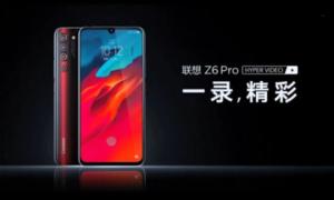 Lenovo ujawniło model Z6 Pro